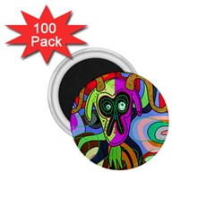 Colorful goat 1.75  Magnets (100 pack)