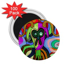 Colorful goat 2.25  Magnets (100 pack)