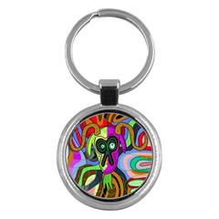 Colorful goat Key Chains (Round)