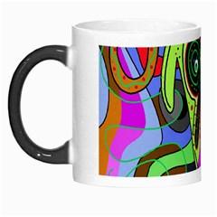 Colorful goat Morph Mugs