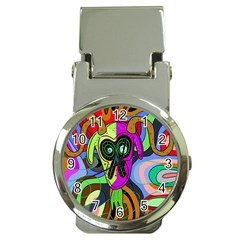 Colorful goat Money Clip Watches