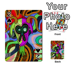Colorful goat Playing Cards 54 Designs