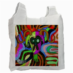 Colorful goat Recycle Bag (Two Side)