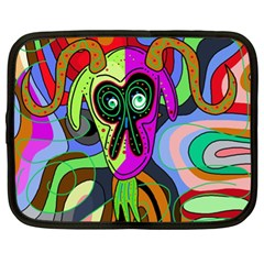 Colorful goat Netbook Case (XL)