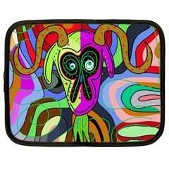 Colorful goat Netbook Case (XXL)