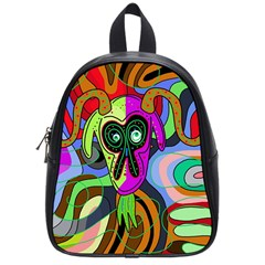 Colorful goat School Bags (Small)