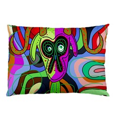Colorful goat Pillow Case (Two Sides)