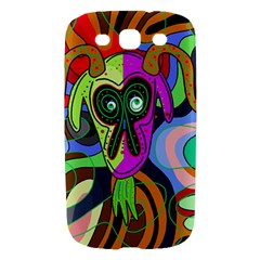 Colorful goat Samsung Galaxy S III Hardshell Case