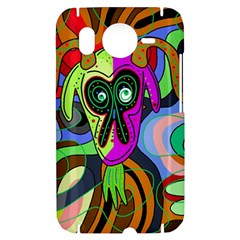 Colorful goat HTC Desire HD Hardshell Case