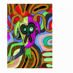 Colorful goat Large Garden Flag (Two Sides)