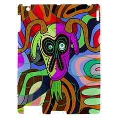 Colorful goat Apple iPad 2 Hardshell Case