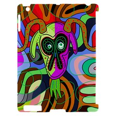 Colorful goat Apple iPad 2 Hardshell Case (Compatible with Smart Cover)