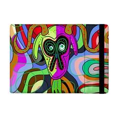Colorful goat Apple iPad Mini Flip Case