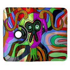 Colorful goat Samsung Galaxy Note II Flip 360 Case