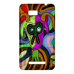 Colorful goat HTC One SU T528W Hardshell Case