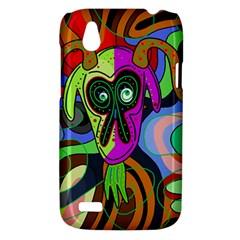 Colorful goat HTC Desire V (T328W) Hardshell Case