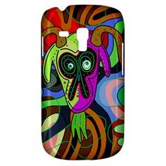Colorful goat Samsung Galaxy S3 MINI I8190 Hardshell Case