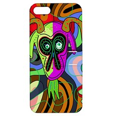 Colorful goat Apple iPhone 5 Hardshell Case with Stand
