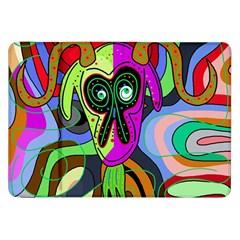 Colorful goat Samsung Galaxy Tab 8.9  P7300 Flip Case
