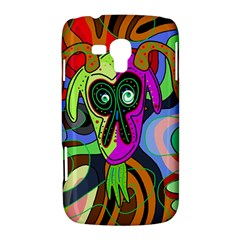 Colorful goat Samsung Galaxy Duos I8262 Hardshell Case