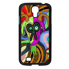 Colorful goat Samsung Galaxy S4 I9500/ I9505 Case (Black)