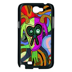 Colorful goat Samsung Galaxy Note 2 Case (Black)