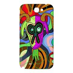 Colorful goat Samsung Note 2 N7100 Hardshell Back Case