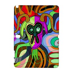 Colorful goat Samsung Galaxy Note 10.1 (P600) Hardshell Case
