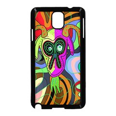 Colorful goat Samsung Galaxy Note 3 Neo Hardshell Case (Black)