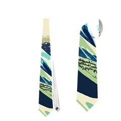 The Great Wave Neckties (Two Side)