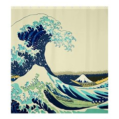 The Great Wave Shower Curtain 66  x 72  (Large)