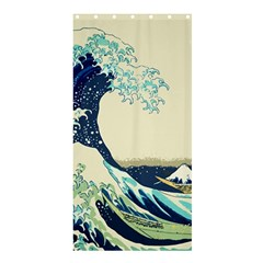 The Great Wave Shower Curtain 36  x 72  (Stall)