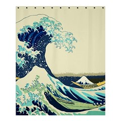 The Great Wave Shower Curtain 60  x 72  (Medium)