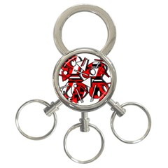 88 3-Ring Key Chains