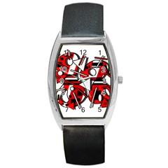 88 Barrel Style Metal Watch