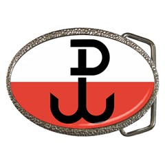 Flag Of The Polish Underground State, 1939 1945 Belt Buckles