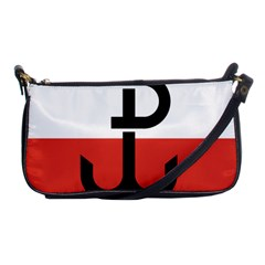 Flag Of The Polish Underground State, 1939 1945 Shoulder Clutch Bags