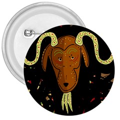 Billy goat 2 3  Buttons