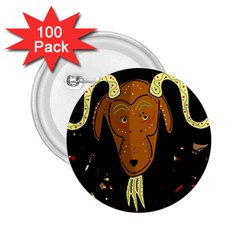 Billy goat 2 2.25  Buttons (100 pack)