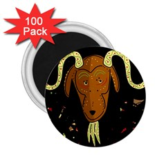 Billy goat 2 2.25  Magnets (100 pack)