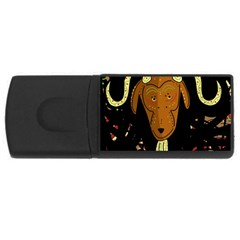 Billy goat 2 USB Flash Drive Rectangular (1 GB)