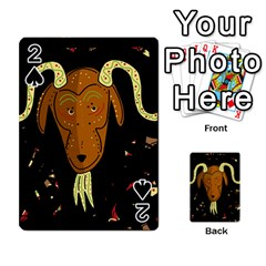 Billy goat 2 Playing Cards 54 Designs