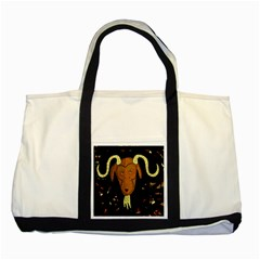 Billy goat 2 Two Tone Tote Bag