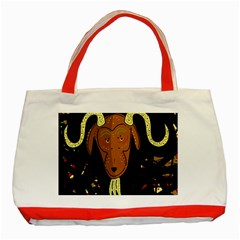 Billy goat 2 Classic Tote Bag (Red)