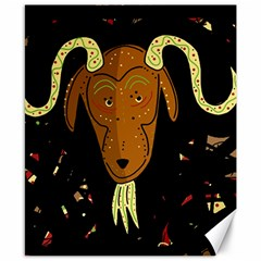 Billy goat 2 Canvas 8  x 10