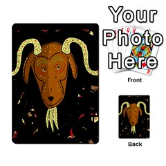 Billy goat 2 Multi-purpose Cards (Rectangle)