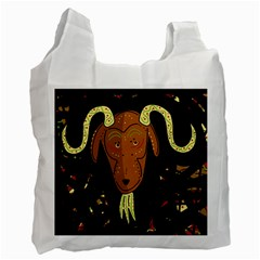 Billy goat 2 Recycle Bag (Two Side)