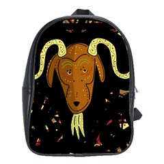 Billy goat 2 School Bags(Large)