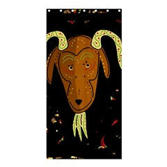 Billy goat 2 Shower Curtain 36  x 72  (Stall)