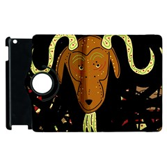 Billy goat 2 Apple iPad 3/4 Flip 360 Case
